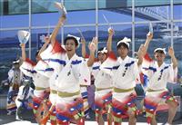「踊るあほう」空港で歓迎 12日、阿波おどり開幕