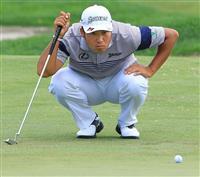 松山は17位に 米男子ゴルフ