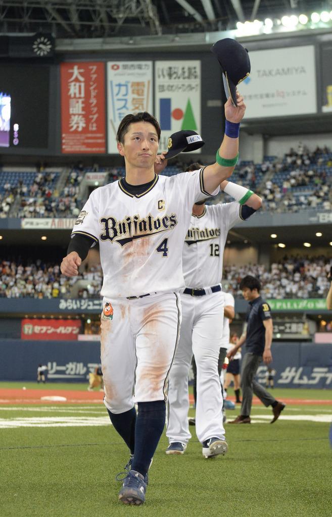 オリックス・福田周平選手