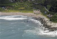 千葉・館山の海岸で少年2人が沖に流され行方不明