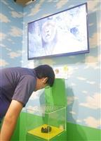 """うんこドリル、初の展示会で""""観察""""も"""