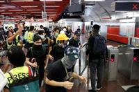 中国「テロの兆候」と非難 香港の抗議活動で