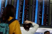 日本便も欠航や遅れ相次ぐ お盆休みの香港行きに影響