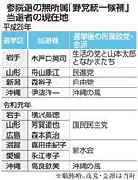 【政治デスクノート】止まらない野党の「政党ロンダリング」