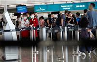 香港空港が運航再開 デモ影響、13日も200便以上が欠航へ