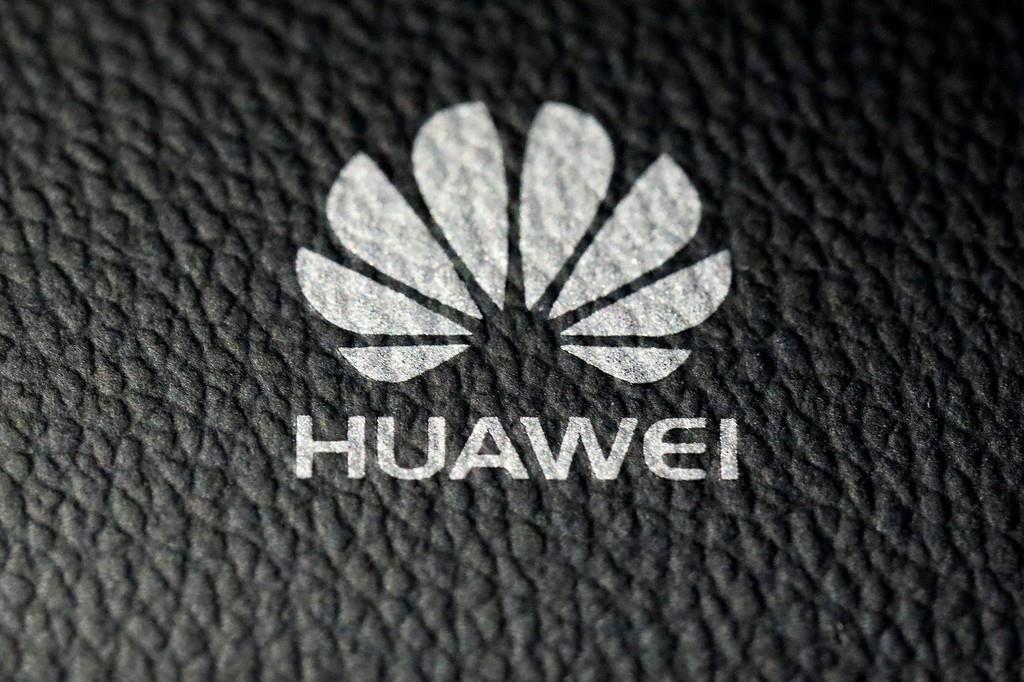 中国通信機器大手、華為技術(ファーウェイ)のロゴ(ロイター)