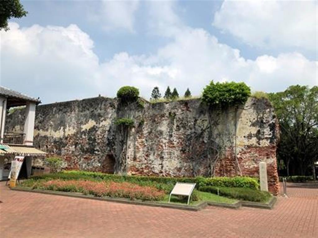 旧ゼーランジャ城の城壁