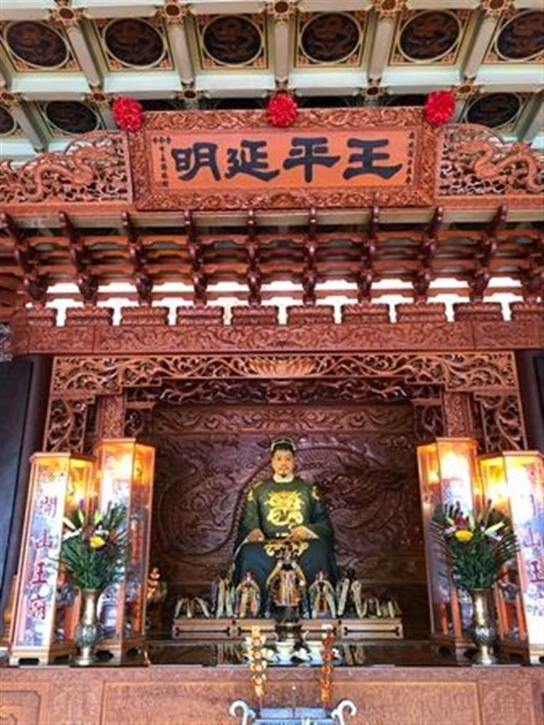 延平郡王祠に祭られている鄭成功