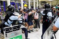 トランプ氏「中国は香港との境界に部隊移動」とツイッター 「平静に」と呼びかけ