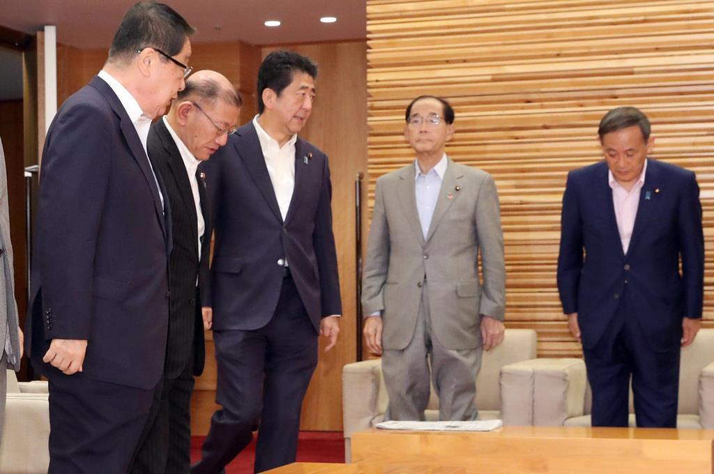 農水相が香港出張 デモ激化も「慎重に判断」