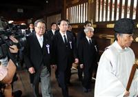 【動画あり】超党派議連が靖国神社に参拝