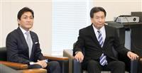 立憲・枝野、国民・玉木両代表が会談「正面から答えていない」統一会派構想は平行線