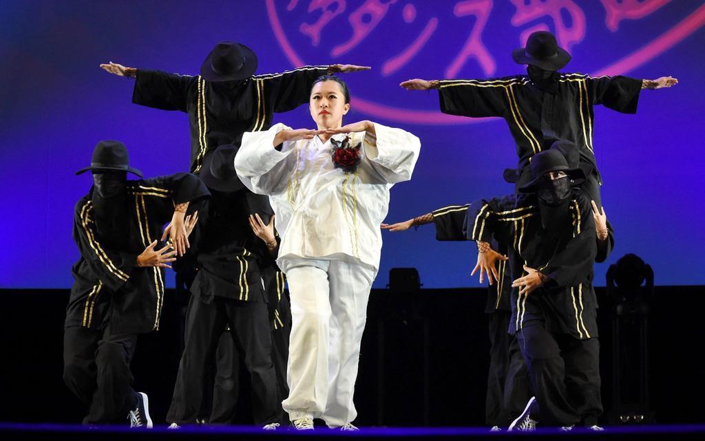 【日本高校ダンス部選手権】「正義と悪」に「女神」…大阪府勢は…