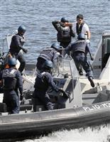 「五輪の安全守れ」 東京港で海保訓練 神奈川