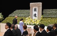 終戦の日 戦没者の冥福祈る 都追悼式に677人出席
