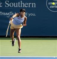 大坂が準々決勝進出 テニスのW&Sオープン