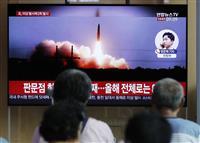 北朝鮮がまた飛翔体2発を発射 文氏の演説を非難し「再び対座しない」