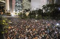 中国、米の香港デモ干渉に過敏 学生ら「米に期待せず」の声も