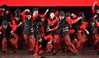 【日本高校ダンス部選手権】踊りながら衣装早替え 大阪府立東百舌鳥