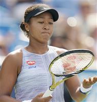 大坂が準々決勝途中棄権 西岡は体調不良で テニス