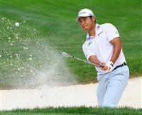 松山がコース記録63で首位 米男子ゴルフPO第2日