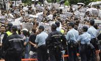 香港デモ、若者から社会各層に広がり 住民「土地を取り戻せ」