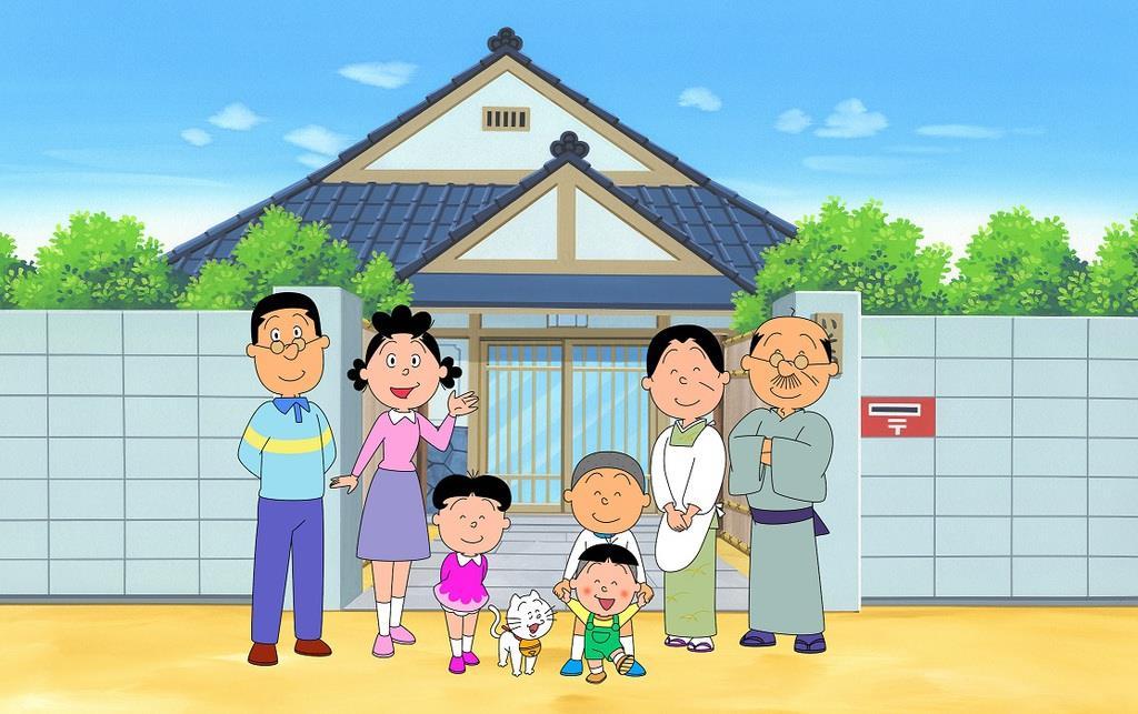 「サザエさん」放送開始50周年記念でSPアニメ&実写版ドラマ…
