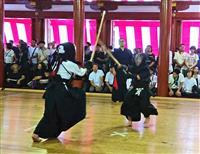 鋭い竹刀音響き渡る 日光東照宮で剣道大会開幕