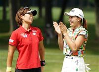 穴井が3勝目、渋野3位 女子ゴルフ最終日