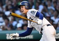 履正社が関東第一に逆転勝ちし4強 全国高校野球第12日