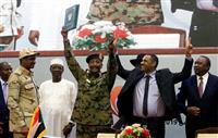 スーダンで軍民合同の評議会設置 民政移管に向け一歩