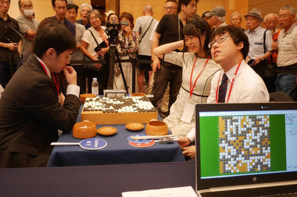 世界ペア碁最強位戦開幕、井山ら日本勢は敗退 - 産経ニュース