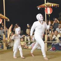 伝統の姫島盆踊り 「子ギツネ」軽快に舞う 大分