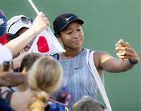 大坂が世界ランク1位守る 全米テニスは第1シード
