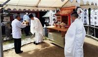 河内長野に「楠公神社」 ゆかりの加賀田神社で遷座祭