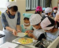 朝食作りに児童が挑戦 京丹後で「キッズクッキング」