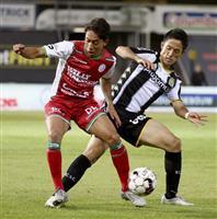森岡が今季2ゴール目 サッカーのベルギー1部