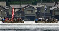船の速さ競い豊漁祈願 伊根湾で祭事・おべっさん 京都