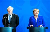 英首相訪独 EU離脱回避に向け、「30日内に代案を」と独首相