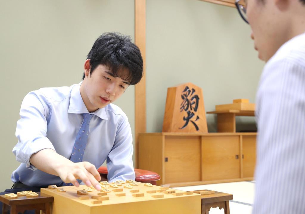藤井七段、第91期ヒューリック杯棋聖戦2次予選進出