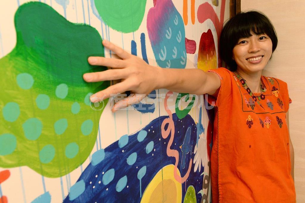 【一聞百見】アーティスト・河野ルルさん 癒やしの壁画で「幸せ…
