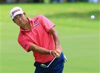 松山66で3打差7位 米男子ゴルフ今季最終戦第1日