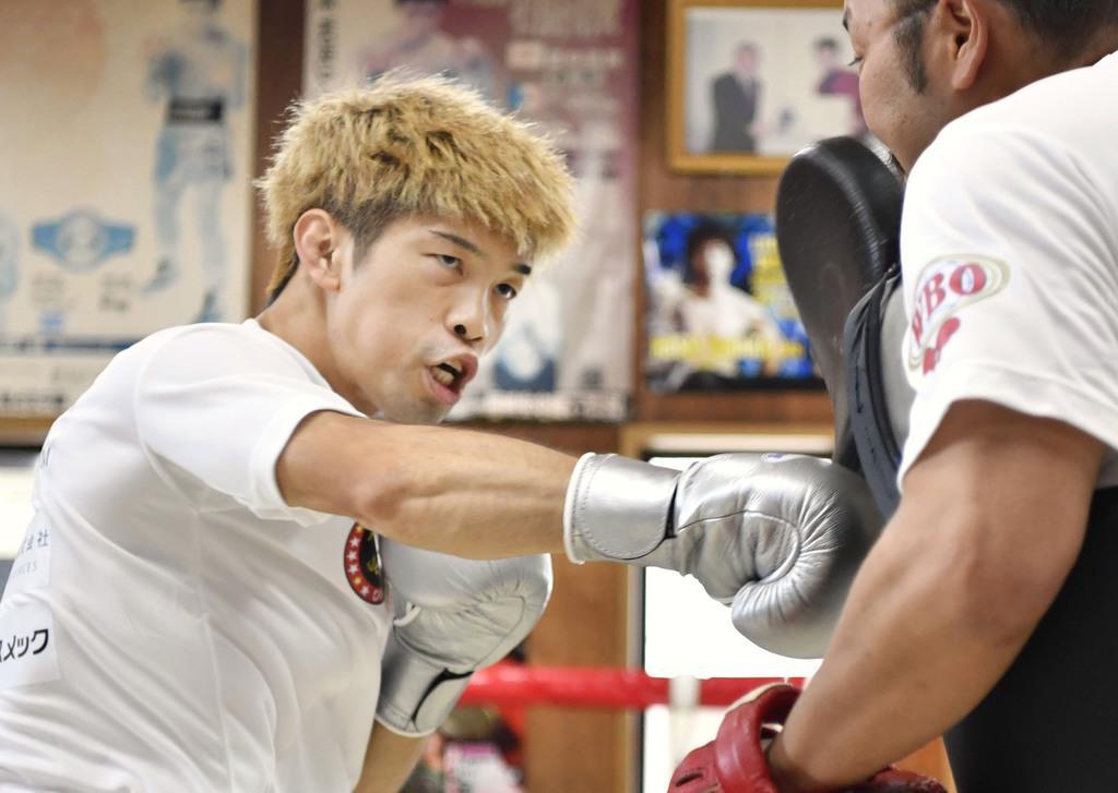 田中、挑戦者とも計量パス ボクシングWBO世界戦