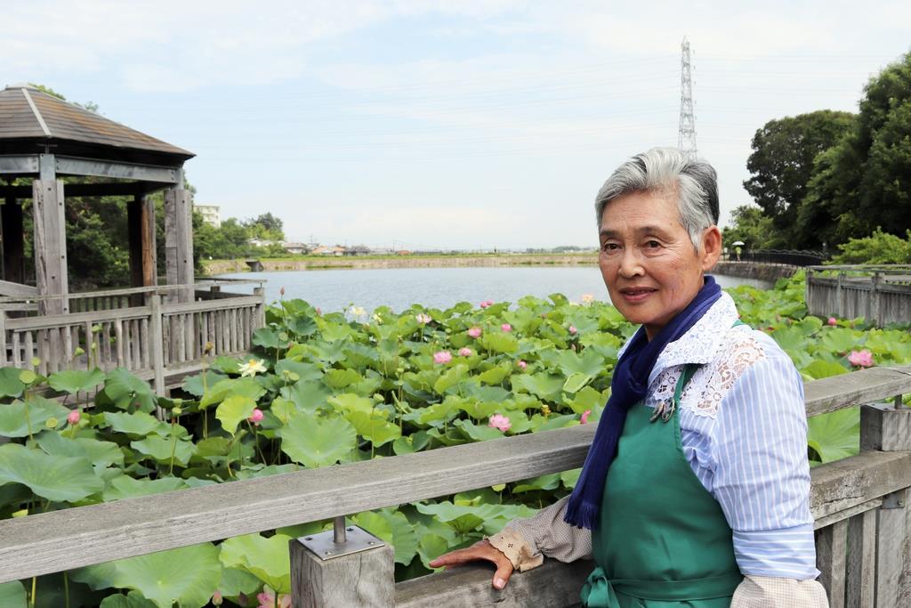 ため池、危険箇所から観光名所に 大阪・熊取