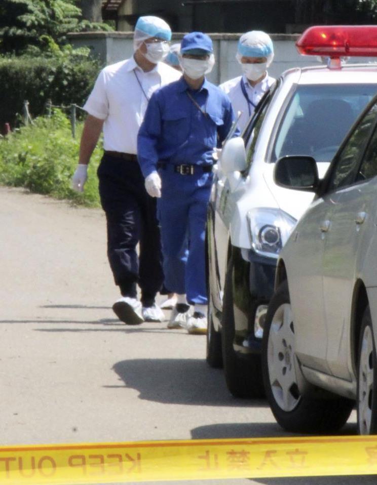 のどかな集落に衝撃 茨城県八千代町で夫婦殺傷