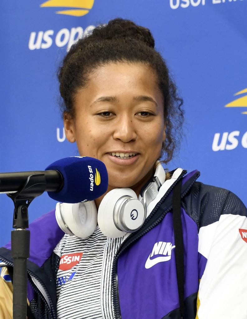 大坂、連覇に自信 全米テニスへ向け会見 錦織も復調