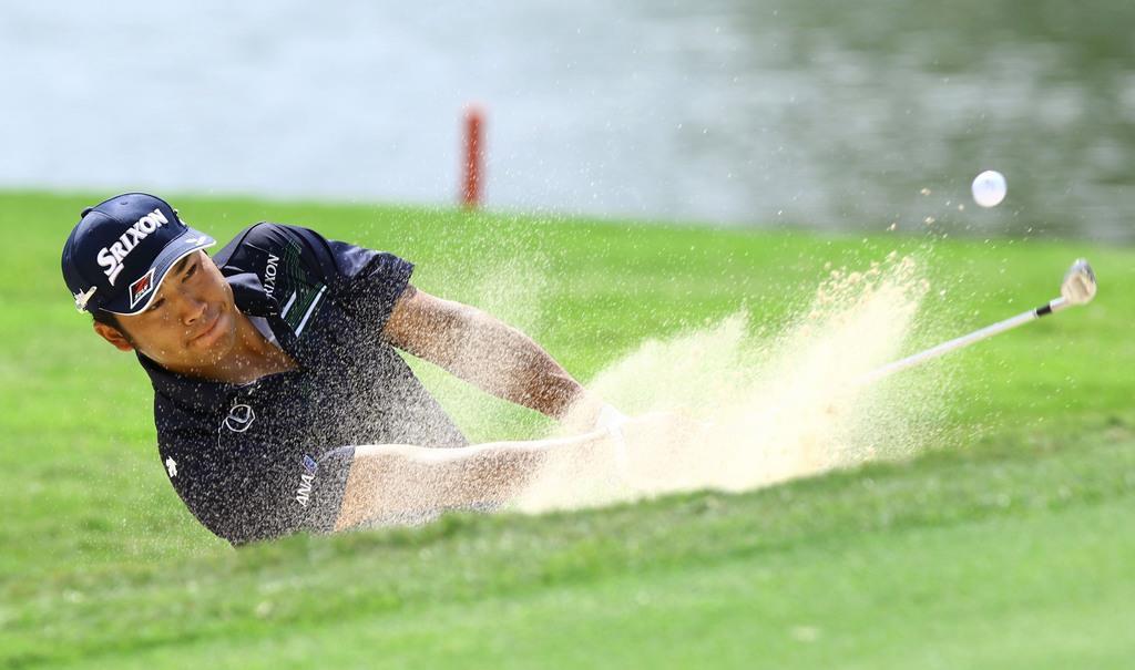 松山75で11打差15位 ケプカ首位 米男子ゴルフ最終戦
