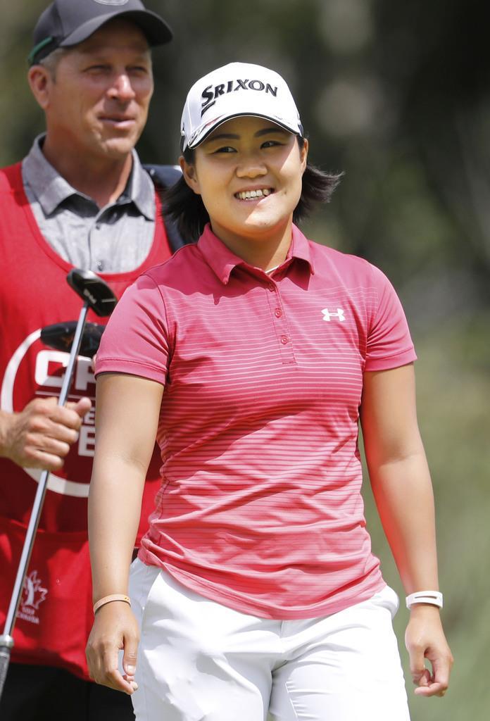 11位の畑岡「チャンスにつけられた」 米女子ゴルフ