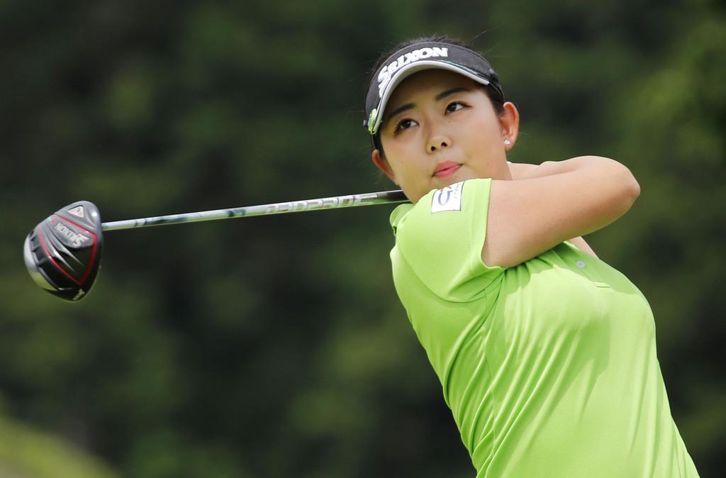 浅井咲希が首位守る CATレディースゴルフ第2日