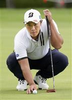 堀川、3打差で最終日へ 逆転の青写真描く セガサミー杯ゴルフ